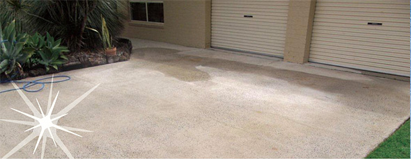 Driveway clean for Best way to remove oil from concrete driveway
